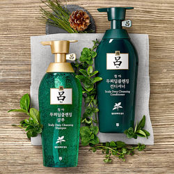 Шампунь и Кондиционер от перхоти RYO Cheongahmo Scalp Deep Cleansing 500мл