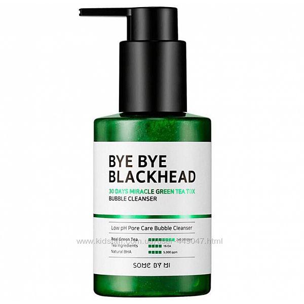 Маска пенка SOME BY MI Bye Bye Blackhead 30 Days Bubble Cleanser 120г