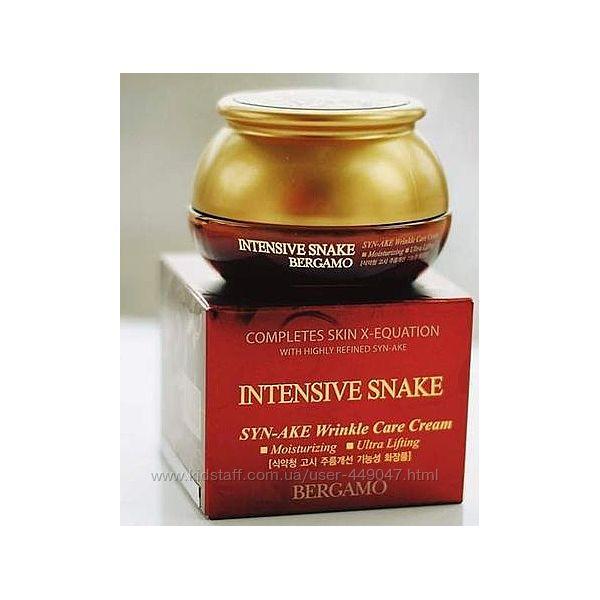 Омолаживающий крем со змеиным ядом Bergamo Intensive Snake wrinkle 50г