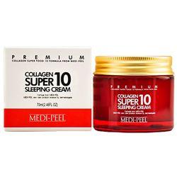 Ночной крем для лица с коллагеном MEDI-PEEL Collagen Super 10 Sleeping 70мл