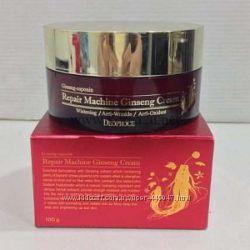 Антивозрастной крем с женьшенем Deoproce Repair Machine Ginseng Cream 100мл