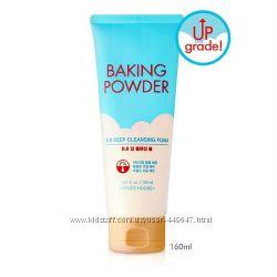 Глубоко очищающее средство Etude House Baking Powder BB Deep Foam 30, 160мл