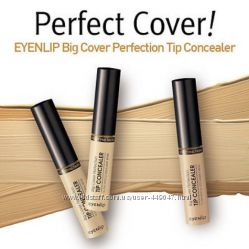 Консилер Eyenlip Big Cover Perfection Tip Concealer, 5 мл