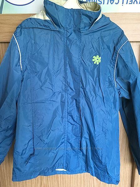 Куртка, ветровка, дождевик, непромокайка для девочки Alive, 134
