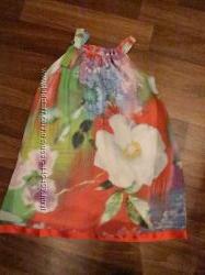 легкий летний красивенный сарафан девочка 7-8 лет