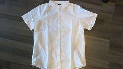 Актуально для школы белая классика рубашка для школы девочка 12-13-14 лет