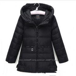 Зимнее пальто пуховик куртка для девочек