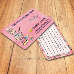 Дизайн и печать визитки, флаеры, календари, наклейки, этикетки, фотозоны.