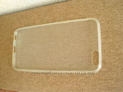 Силиконовый полупрозрачный чехол для APPLE iPhone 6 Plus