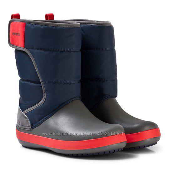 Детские сапоги Crocs LodgePoint Snow Boots, оригинал