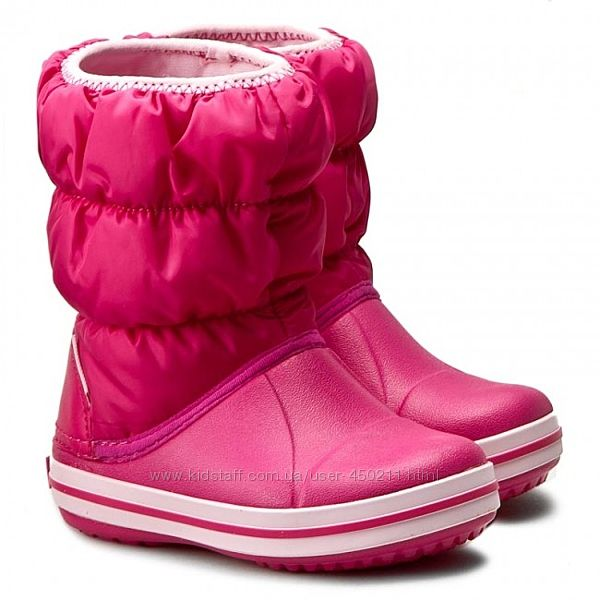 Детские сапоги Crocs Winter Puff Boot, оригинал