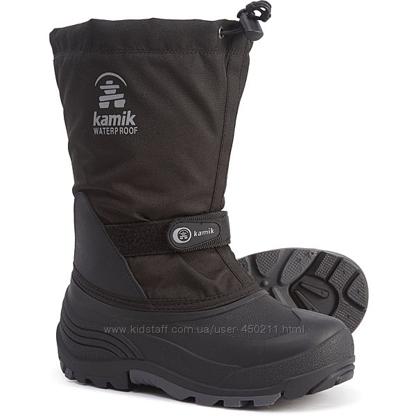 Детские зимние сапоги Kamik Waterbug 5 Boots, оригинал
