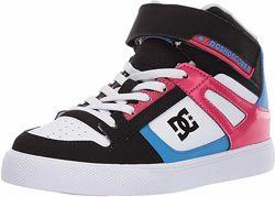Детские кожаные высокие кроссовки, хайтопы DC Shoes, оригинал