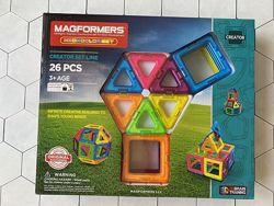 Магнитный конструктор Magformers Neon Оригинал 26 элементов