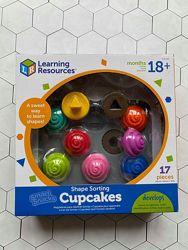Развивающая игрушка Learning Resources Сортировка собери кексы