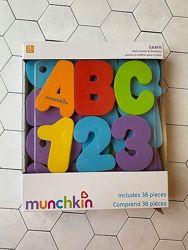 Игрушка для ванной Буквы и цифры Оригинал Munchkin