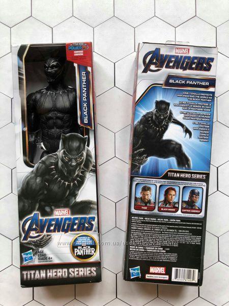Фигурка Черная Пантера Marvel Black Panther Titan Hero ...
