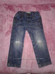 Крутые джинсы на 2-3г