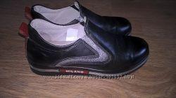 Стильные кожаные туфли MILANO 34р.