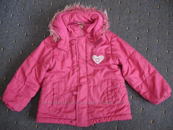 Деми куртки на 5-6 лет