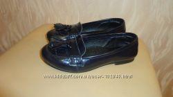 Кожанные школьные туфли Pablosky р 30- 31.