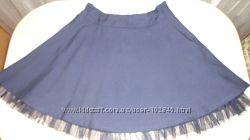 Школьные юбки, блузки для девочки на р 122-128-134-140.