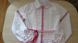 Школьные блузы Мевис , Next, Остин р 122-128-134.