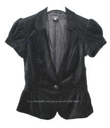 Пиджак бархатный с коротким рукавом