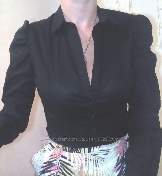 Рубашка боди черного цвета terranova
