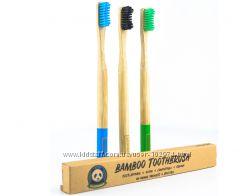Зубная щетка бамбуковая Ecopanda