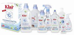 Органические средства для стирки Klar - безопасная стирка без аллергии