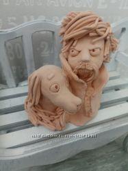 Авторские глиняные фигурки