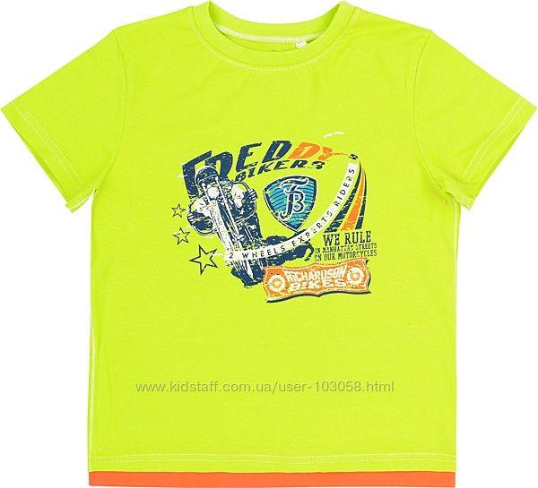 Яркая футболка Bembi рост 140 см
