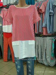 Идеальная летняя блузка на жару