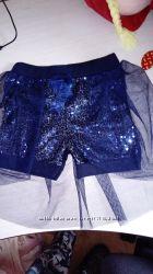Новые нарядные шорты-юбка надевочку