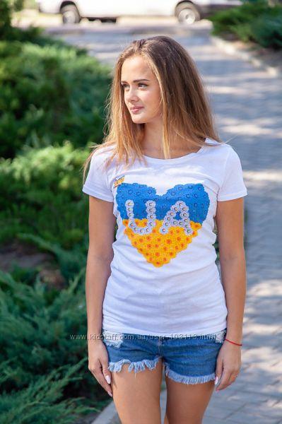 Футболка женская Україна