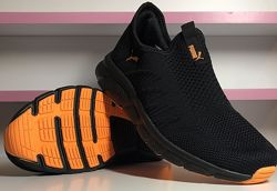Летние кроссовки Puma 41-45 размеры, черные кроссовки, кроссовки в сеточку