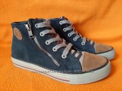 Новые кожаные кеды, ботинки Eram р.31,33 Франция.