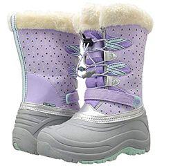 Непромокаемые сноубутсы, зимние сапоги для девочки Jambu