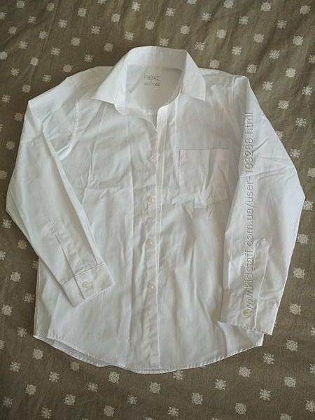 Белая рубашка Next 9лет