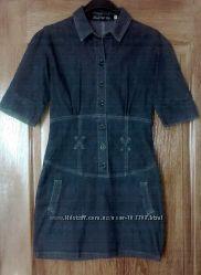 Платье джинс Black Bat - р. М, идет на S