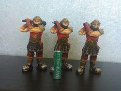 Фирменные фигурки воинов ELC лотом.