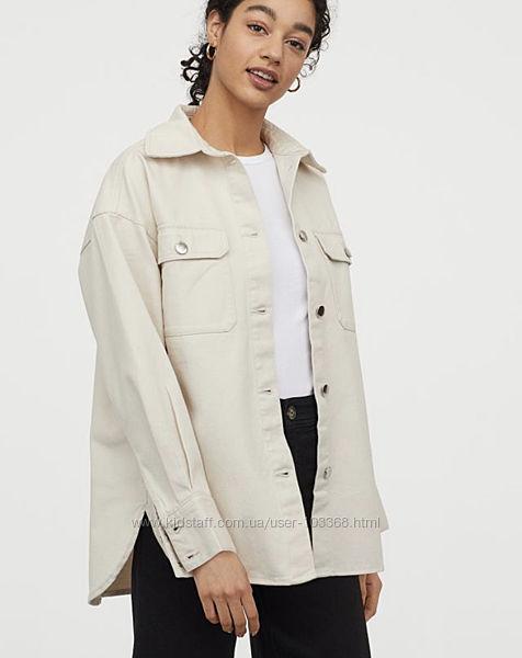 Курточка рубашка Н&М