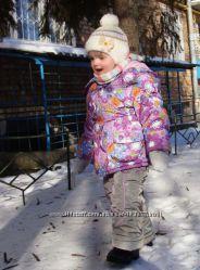 Зимний комбинезон девочке 98-110 р.