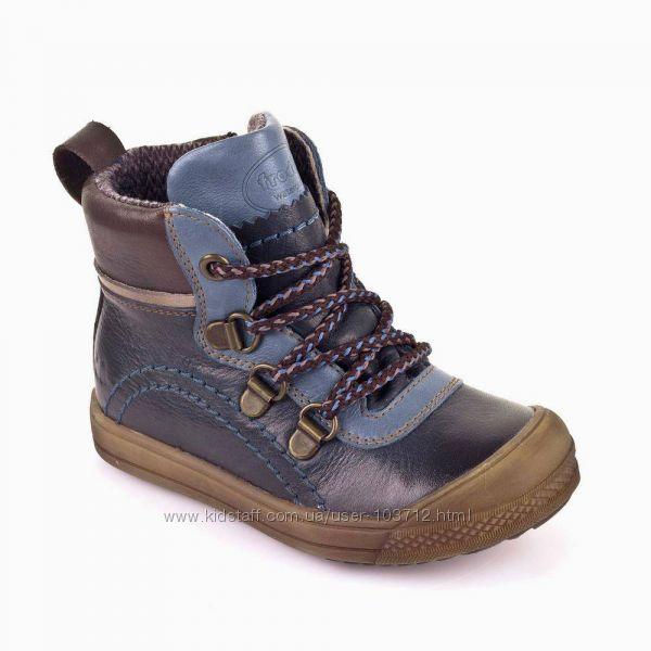 Деми ботинки Froddo 29р, стелька - 18. 5см