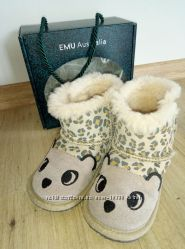 Emu Australia угги для девочки 15см натур