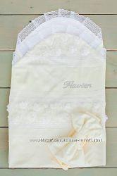 Нарядный летний конверт для новорожденных Flavien