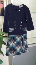 Платье трикотажное для девочек 122,140р-р