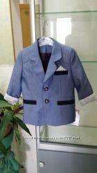Стильный пиджак для мальчика, 92р.