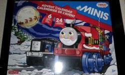 Адвент календарь паровозик Томас Fisher-Price Thomas Advent Calendar Train